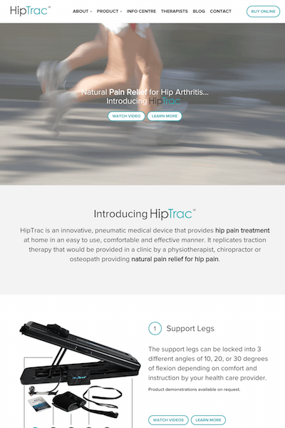 HipTrac Marketing Project