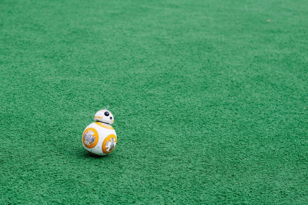 star wars robot BB8