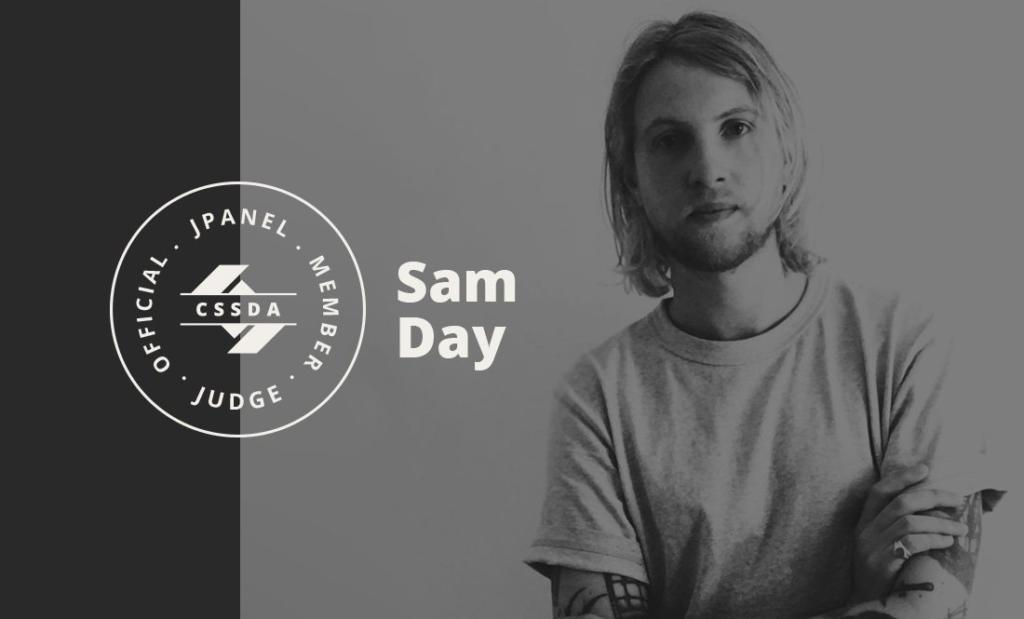 Sam Day from CSS Design Awards