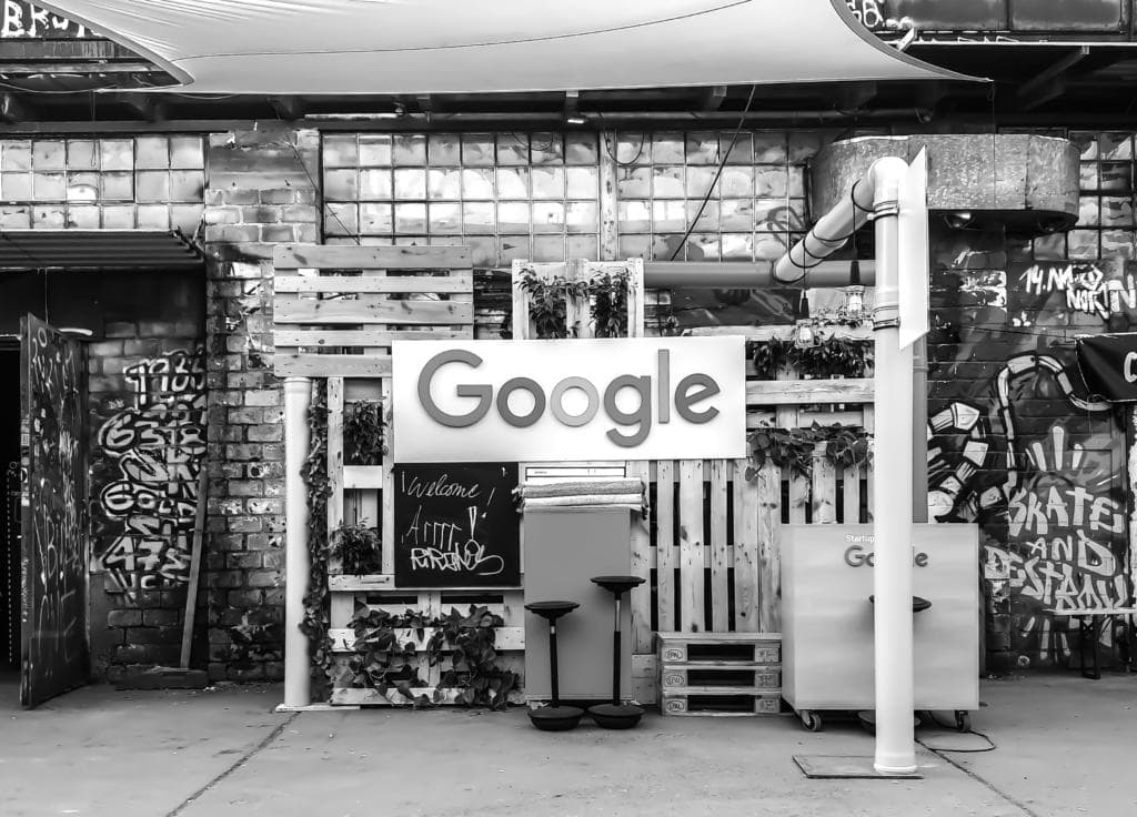 Google Logo In Street